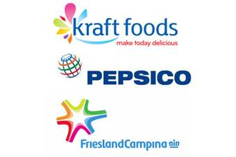 Kraft, PepsiCo and FrieslandCampina all announced investment in innovation