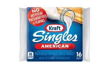 Kraft Singles has relaunched as artificial preservative free