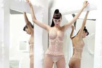One of Jean Paul Gaultiers designs for La Perla