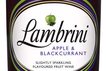 Click through to view Halewood Internationals Lambrini Apple & Blackcurrant