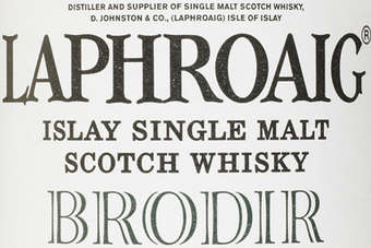 To view the full bottle shot of Laphroaig Brodir, click below.