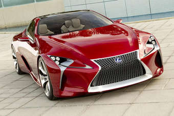 The LF-LC concept at this years Detroit show provided clues for Lexus future styling direction. Might it have also have partially previewed a forthcoming roadster?