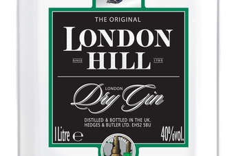 Click through to view London Hill Gin redesign