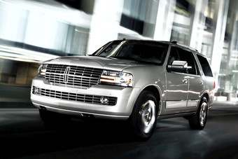 Lincoln line is topped by giant Navigator SUV