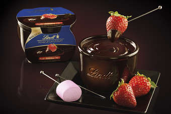 FRANCE: Lindt launches chocolate fondue