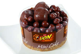 The Lion, After Eight and Choco Crossies frozen mini cakes launched this month