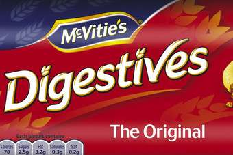 McVities Digestives will sponsor AC Milan for the 2012/2013 football season