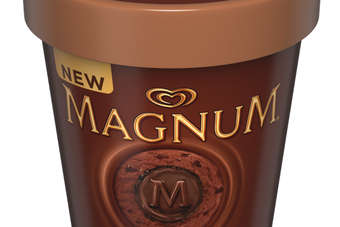 Unilever launches Magnum Luxury ice cream tubs. Click below for a full image.