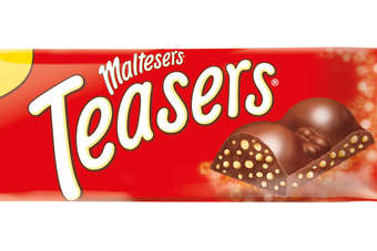 Maltesers Teasers combines chocolate-coated honeycomb balls in a block format