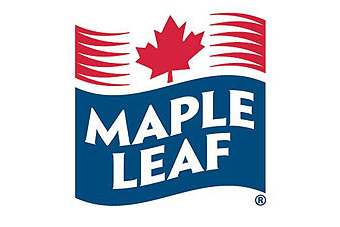 Maple Leaf shares closed up in Toronto