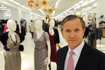 In the money: M&S boss continues 2013 journey