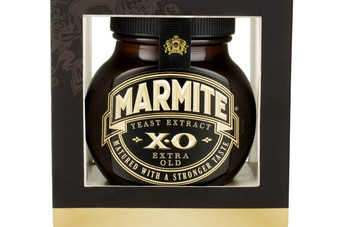 "Marmite XO: a ""strong and full-bodied spread for devotees""."