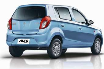 New Alto 800 is a remake of Indian domestic Alto (not to be confused with the A-Star badged Alto for export and also built as the Nissan Pixo)
