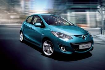 The current Mazda2, launched in 2007, is due for replacement soon
