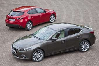 Is Mazdas new 3 saloon really a fastback compared with...