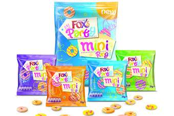 Northern Foods has launched a mini version of its Foxs Party Rings