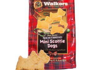 Walkers latest innovation - the Mini Scottie Dogs sharing bag