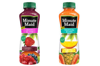 Minute Maid Tropical Blend & Berry Blend