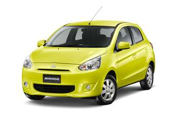 Mitsubishis low-cost Mirage hatchback was its first eco-car model for Thailand.