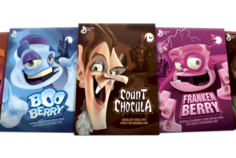 General Mills believes new cereals, including the Monsters range, can boost sales in US