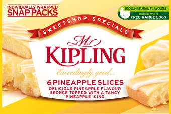 Mr Kipling cake slices have been extremely successful since being first launched in 1975