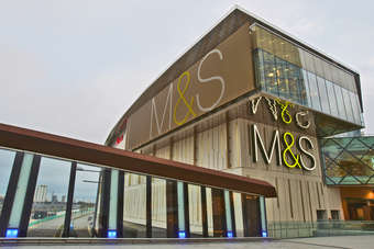 Food thrives in mixed M&S results