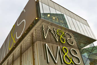 M&S UK like-for-like general merchandise sales fell 3.8% over the key Christmas trading period