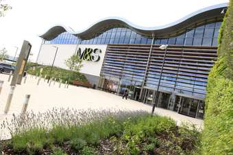 Marks and Spencer opened its Cheshire Oaks store yesterday