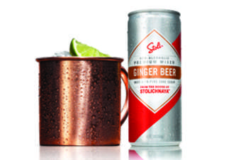 The new ginger beer is designed to make a Moscow Mule
