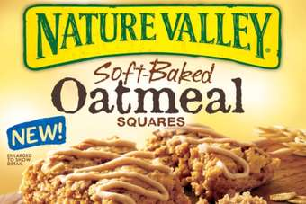 Nature Valley Soft-Baked Oatmeal Squares are available in two flavours