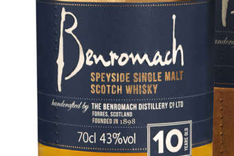 Click through to view the new Benromach packaging