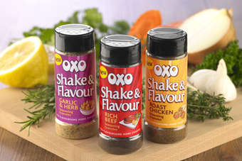 UK: Premier rolls out Oxo seasoning shakers