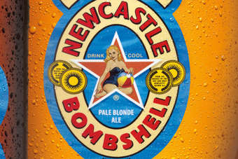 Click through to view Heinekens Newcastle Bombshell Blonde Ale