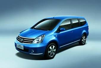 Current Nissan China line includes Geniss minivan