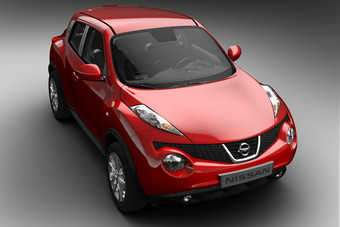 Nissan first revealed Juke in Paris in February