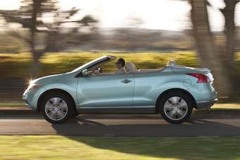 Nissan has just launched a cabriolet version of its Murano SUV in the US - it