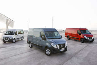 NV400 is latest large van from a Renault-GM-Nissan LCV alliance in Europe