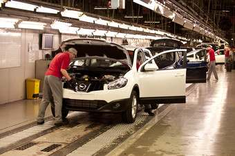 uk nissan reports record year for sunderland plant automotive