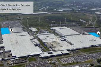 Infiniti assembly plant