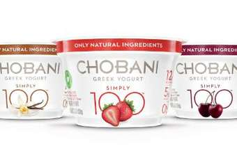 Simply 100, Chobanis answer to Yoplait Greek 100