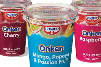 Dr Oetker is to stop selling chilled desserts in the UK at the end of the year after selling its Onken yoghurt brand