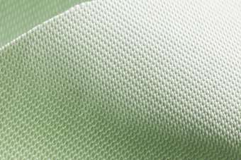 The OrganoTex water-repellent fabric treatment uses biodegradable components and is fluorocarbon-free