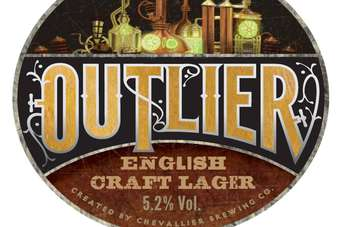 Outlier is available in selected M&B pubs in the UK