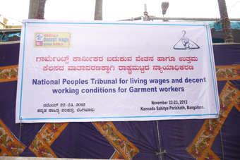 The National Peoples Tribunal on the Right to a Living Wage took place in India last week