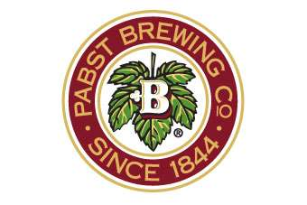 The brewer is owned by private  Pabst Brewing Company Logo