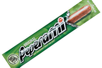 Peperami, a spicy pork salami, is manufactured by Unilever in Germany, Mexico and the UK