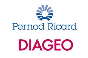 Diageo and Pernod Ricard will swap places in the race for EPS growth