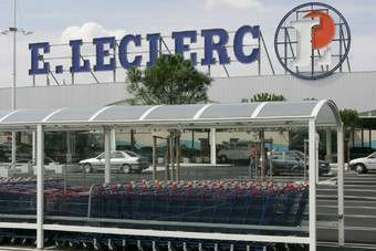 Leclerc increased its share of the French market in 2010