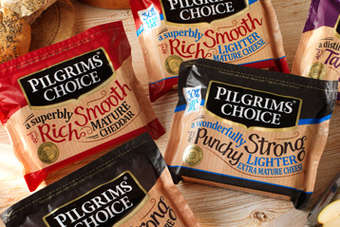 Sales of Pilgrims Choice cheese in the UK rose year-on-year