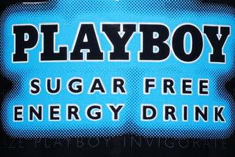 Click through to see the Playboy Energy Drink can